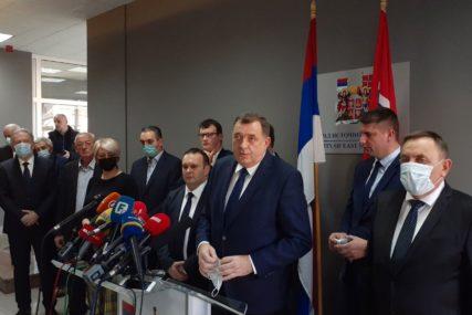 OBEĆAO PODRŠKU INSTITUCIJA Dodik: Istočno Sarajevo je strateški važno za Srpsku
