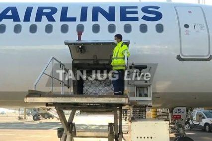 STIGLA ČETVRTA VAKCINA Na beogradski aerodrom sletio avion sa AstraZeneka cjepivom