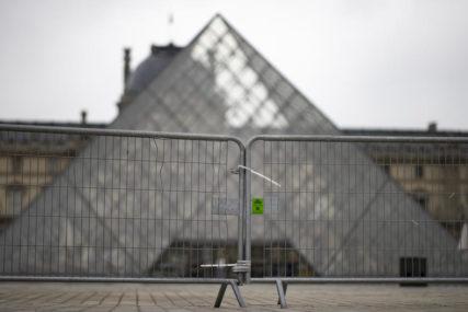 KORONA I UMJETNOST Pariski Luvr od oktobra 2020. godine bez posjetilaca