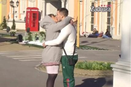 VEZA SE RAZBUKTALA Pao poljubac Miljane Kulić i Danijela pred svima