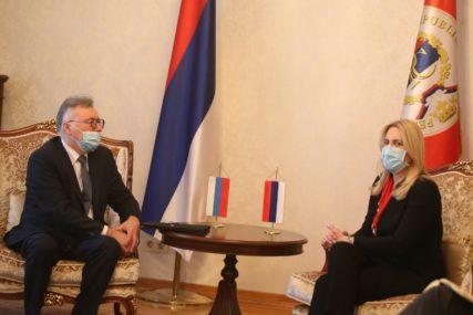 """""""Unapređenje saradnje sa Rusijom jedan od prioriteta"""" Cvijanovićeva razgovarala sa novim ambasadorom Rusije u BiH"""