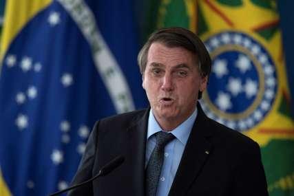 Bolsonaro i dalje ne vjeruje u restriktivne mjere: Prošle sedmice registrovano više od 15.000 umrlih