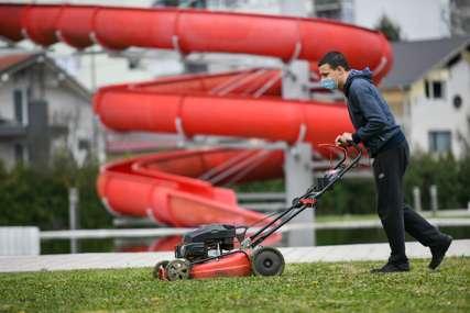 NEMA ODMORA Prinudnu pauzu koriste za uređenje Akvane i Gradskog olimpijskog bazena (FOTO)