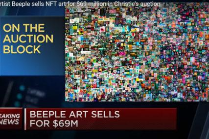 NOVI TRENDOVI Digitalno umjetničko djelo prodato za 69,3 miliona dolara (FOTO)