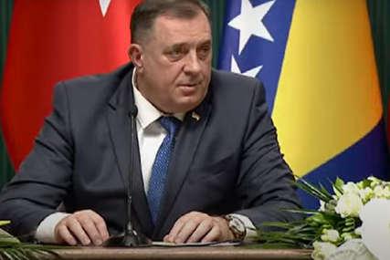 """""""IMAMO PRIJATELJE U TURSKOJ"""" Dodik se zahvalio Erdoganu na donaciju vakcina i najavio zajedničke projekte dvije zemlje"""