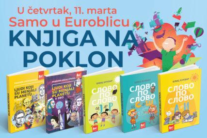 """""""EUROBLIC"""" PONOVO DARUJE Obogatite dječiju biblioteku uz poklon knjigu"""