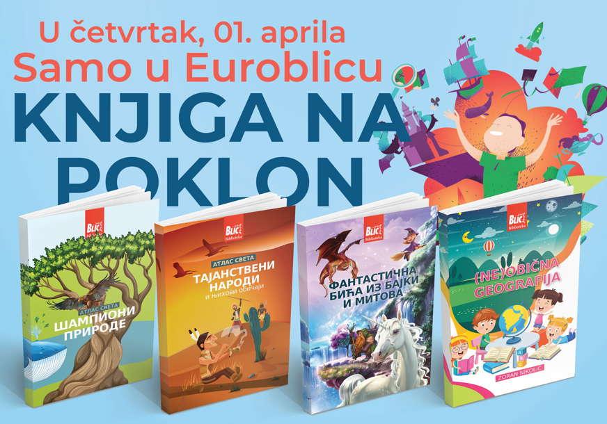 NIJE ŠALA EuroBlic vam u četvrtak poklanja knjigu