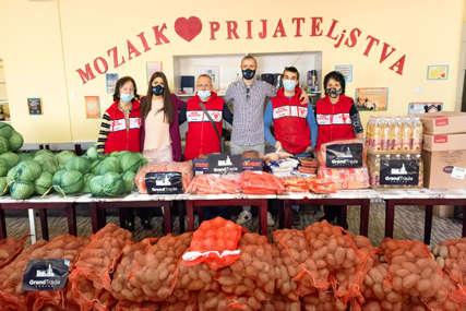 """""""Grand trade"""" donirao TONU HRANE narodnoj kuhinji """"Mozaik prijateljstva"""" (FOTO)"""
