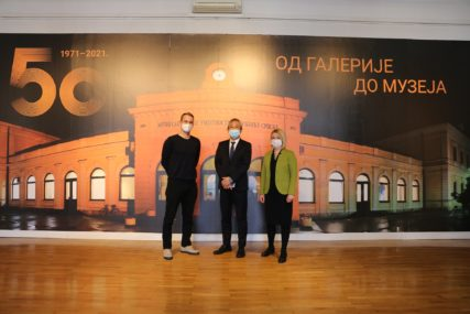 Japanski ambasador posjetio Muzej savremene umjetnosti Republike Srpske