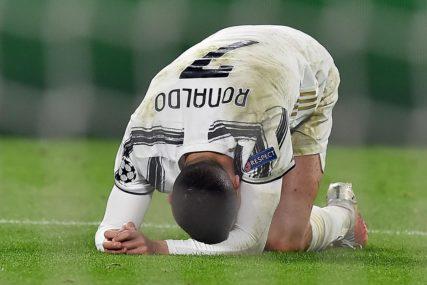 Ronaldo prvi put poslije 2006. godine dva puta uzastopno nije u osmini finala Lige šampiona
