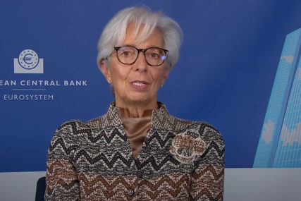 Lagard: Evropska centralna banka neće reagovati na manje promjene inflacije