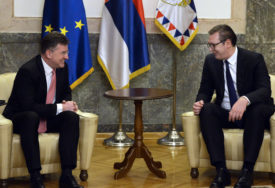 Vučić nakon sastanka sa Lajčakom: Beograd spreman za nastavak dijaloga sa Prištinom