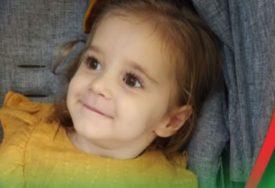 Malena Lenka (3) treba našu pomoć: Rođena je kao zdravo dijete, a sada ne vidi, ne sjedi, ne priča