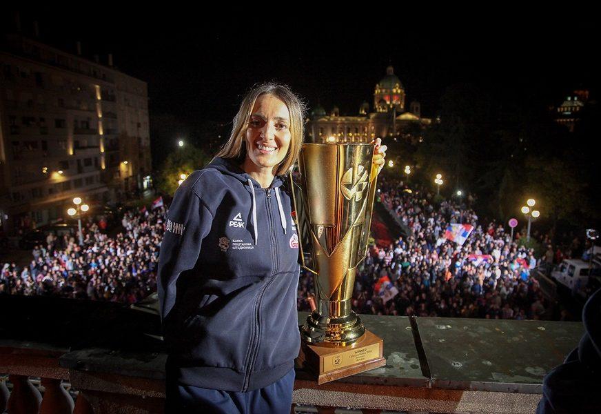VELIKO PRIZNANJE Maja Ognjenović član Sportske komisije FIVB
