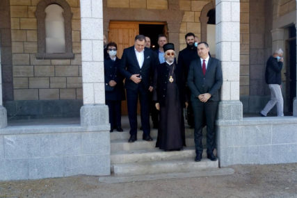 """""""Veoma značajno za naš narod"""" Dodik najavio pomoć završetku obnove manastira Miloševac (FOTO)"""