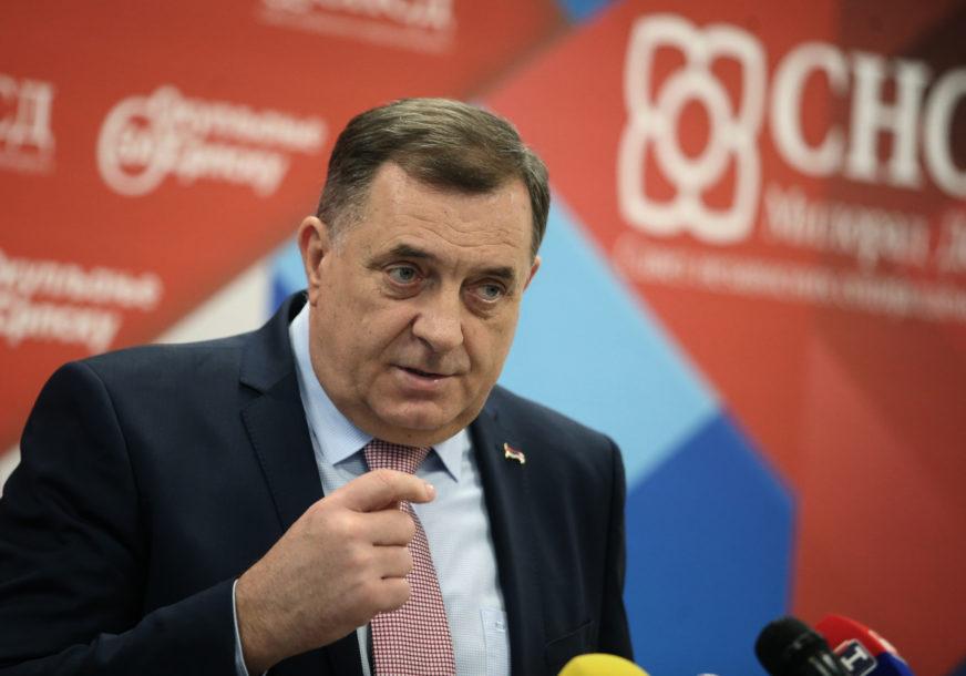 POLITIČKI CILJEVI Dodik: Siguran sam u nezavisnu Republiku Srpsku