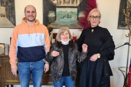 Proslavljena srpska glumica Mira Banjac posjetila Narodno pozorište RS
