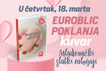 """EUROBLIC POKLANJA KUVAR U četvrtak """"Mladenački slatki zalogaji"""""""