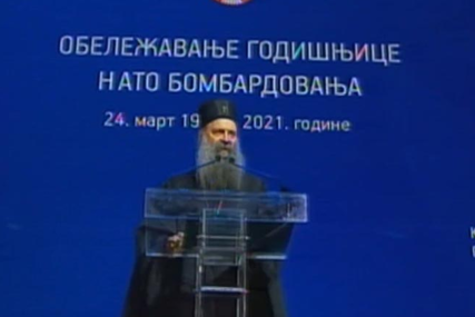 """""""Ne sudite, da vam se ne sudi"""" Patrijarh Porfirije poručio da su srpske žrtve nevine zato što se narod branio od NATO agresije"""