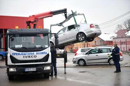 """Bez dodatnih troškova za građane: Umjesto na Rakovačke bare, """"pauk"""" nosi vozila na drugu lokaciju"""