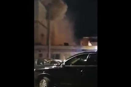 Požar u centru Gradiške: Gorjela robna kuća (VIDEO)