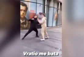 Tik Toker je PONIŽAVAO RADNIKA gradske čistoće u Beogradu, a sada je brutalno pretučen (VIDEO, FOTO)