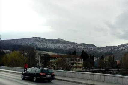 Novi snijeg na jugu Srpske: Pobijelila sva brda iznad Trebinja