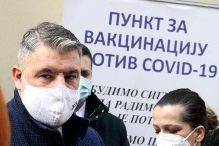 ČEKAJU SE NOVE DOZE Šeranić: Uspješan proces vakcinacije u Trebinju