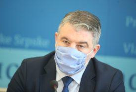 Šeranić: Nadamo se sedmičnoj isporuci vakcina