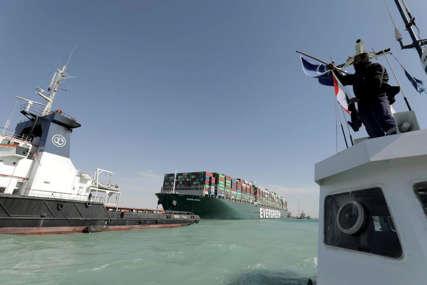 ODŠTETA ZA BLOKADU Vlasti Sueckog kanala traže od vlasnika broda 916 miliona dolara