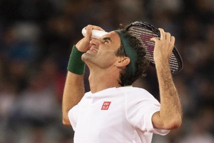 VRAĆA SE TRENINZIMA Federer se povukao sa turnira