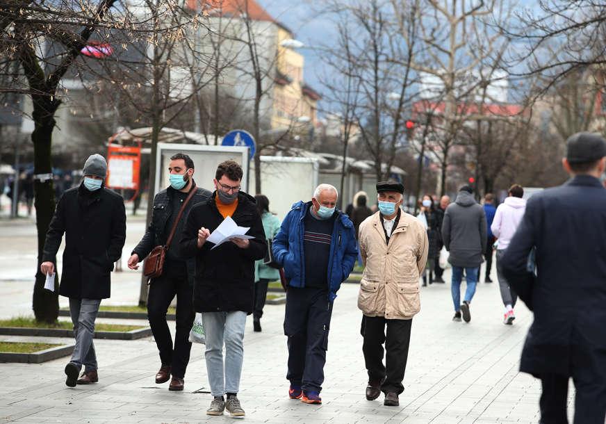 PREMINULO 19 PACIJENATA Korona virus potvrđen kod još 326 osoba u Srpskoj