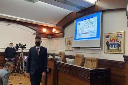 Odbornici već na pauzi: Prekinuta sjednicu Skupštine grada jer u sali nema zastava Banjaluke i Republike Srpske
