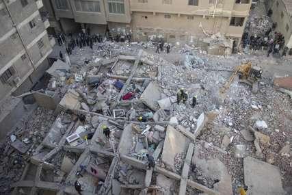 SRUŠILA SE VIŠESPRATNICA Poginulo pet osoba, veliki broj ljudi ispod ruševina