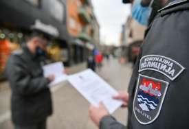 Poštovanje epidemioloških mjera: Komunalna policija obavila preko 7.000 kontrola