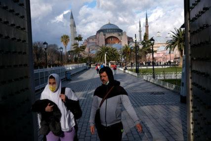 Rekordan broj novozaraženih u Turskoj: Za dan registrovano 13.755 novih slučajeva