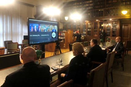 """Palmer i Dačić o Kosovu """"SAD ne namjerava da vrši pritisak na strane u dijalogu"""""""