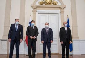 Pahor sa Dodikom u Sarajevu: Slovenija će donirati 4.800 doza vakcina BiH