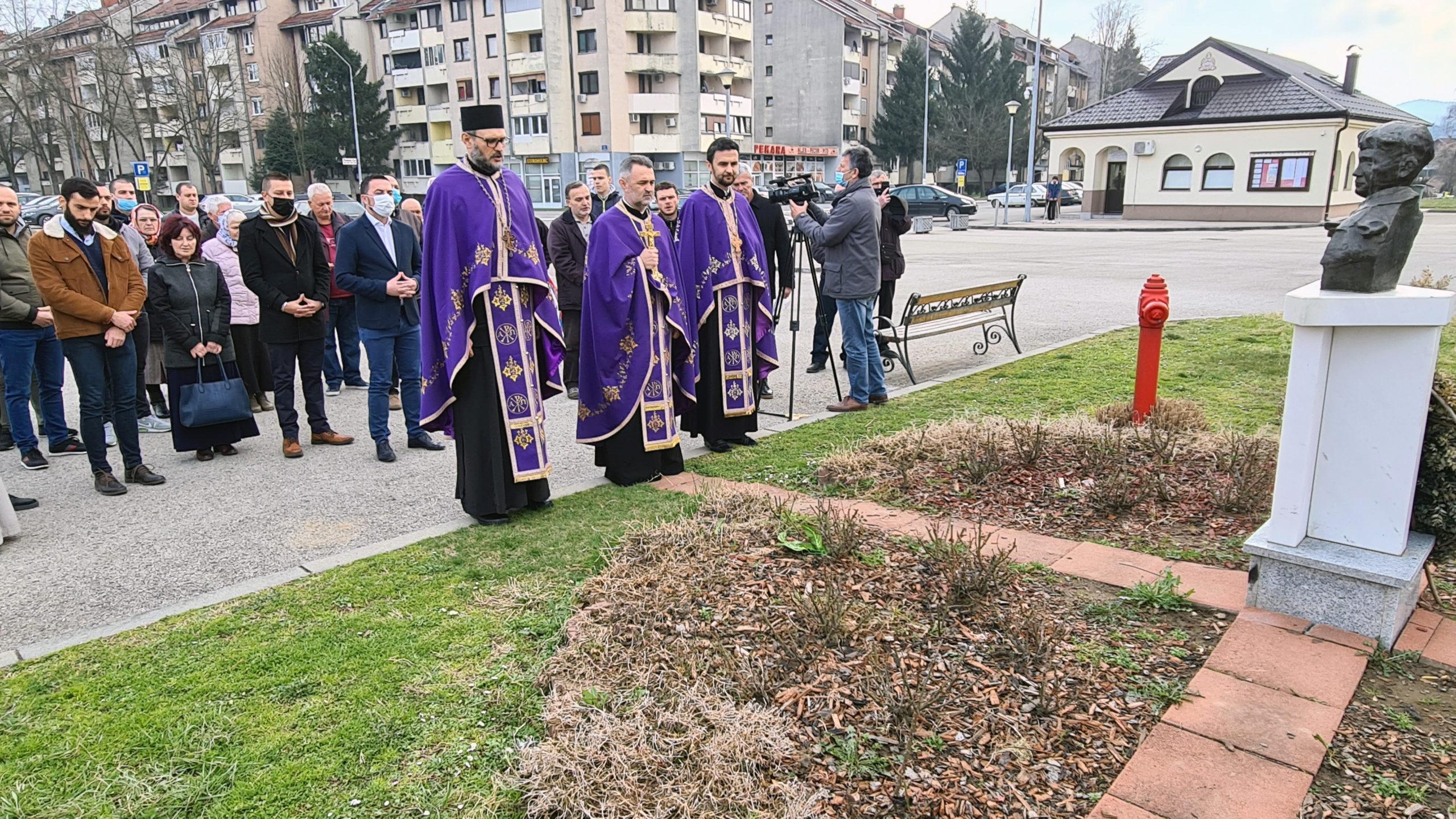 SJEĆANJE NA DJEČAKA JUNAKA Služen parastos najmlađem odlikovanom borcu Srpske Spomenku Gostiću