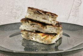 Pita sa sirom i heljdinim korama, preukusna i jednostavna
