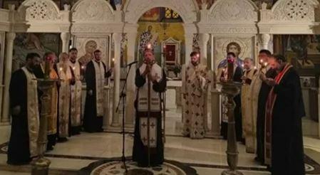"""""""Izgarao za Hrista, vjeru i ljubav"""" Episkop Dimitrije  služio liturgiju povodom smrti vladike Atanasija"""