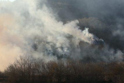 Požar u Biskom pod kontrolom: Na terenu jedan kanader i 40 vatrogasaca