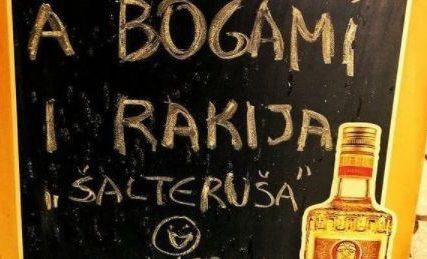 U ponudi RAKIJA ŠALTERUŠA: Kafedžije se dosjetile da uz kafu ponude i rakijicu za ponijeti (FOTO)
