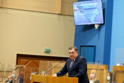 """""""Taman to bio posljednji čin u mom političkom  djelovanju"""" Dodik pozvao na jedinstvo i najavio REFERENDUM o statusu Srpske"""