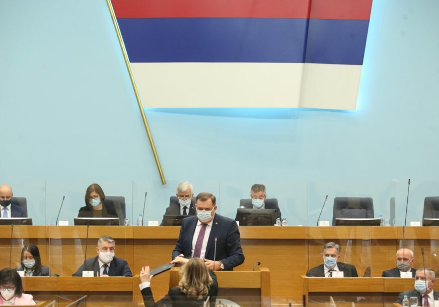 POSLANICI O RADU VISOKOG PREDSTAVNIKA Na Dodikov zahtjev počela posebna sjednica NS RS (FOTO)