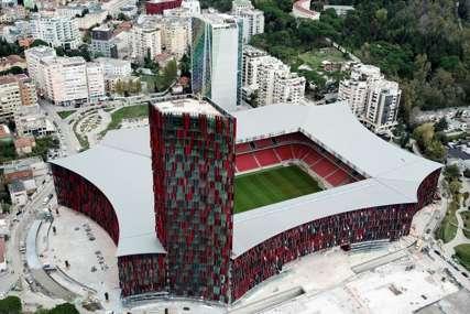 GREŠKA U IZGRADNJI Albancima propada najmoderniji stadion