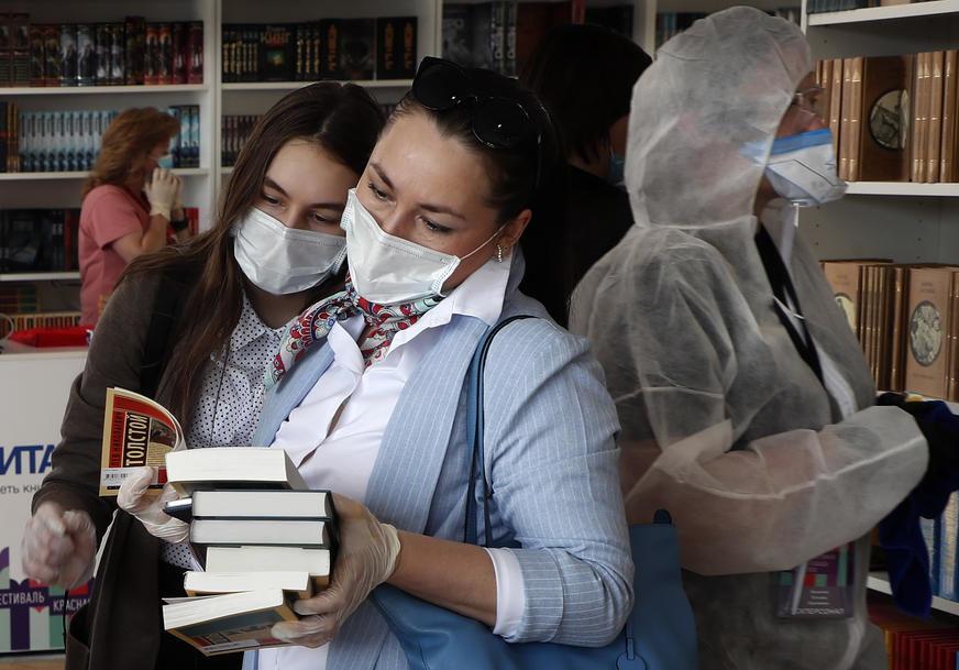 KORONA TRESE RUSIJU U jednom danu registrovano 10.595 zaraženih, najviše u Moskvi