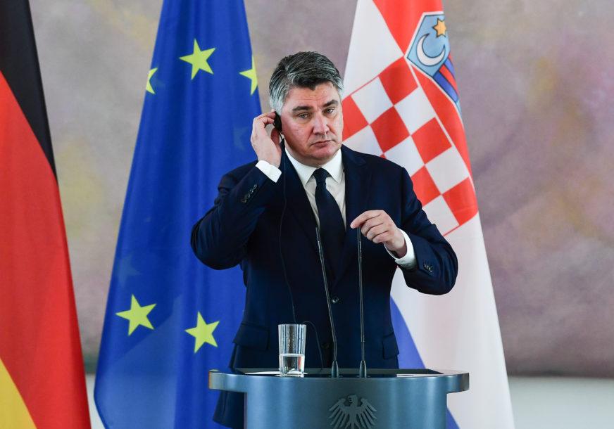 """""""Budi jednom u životu hrabar, prestani muljati"""" Milanović se obrušio na Plenkovića"""