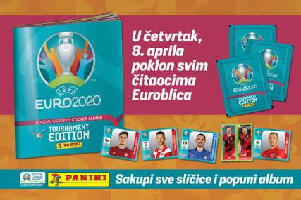 """EuroBlic"" misli na LJUBITELJE FUDBALA: Uz primjerak novina danas na poklon dobijate album EURO 2020."