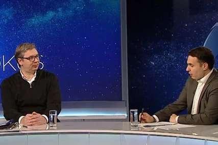 Vučić o non pejperu: Nisam vidio nikakvu mapu ni plan